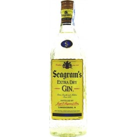 Gin Seagram's 40% 70cl.