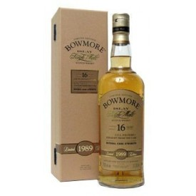 Whisky Bowmore 16 años 1989...