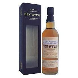 Whisky Ben Wyvis 27 años 70cl