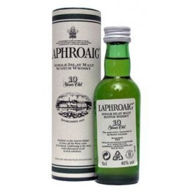 Whisky Laphroaig 10 años 5cl
