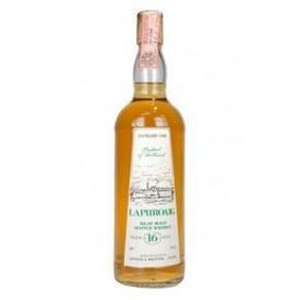 Whisky Laphroaig 16 años...