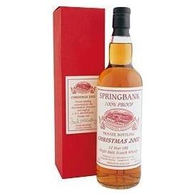 Whisky Springbank 12 años...