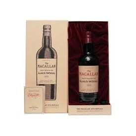 Whisky Macallan 1876...