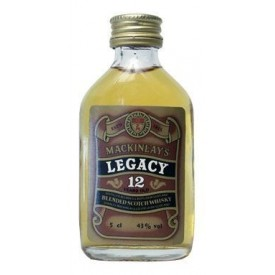 Whisky Legacy 12 años 5cl