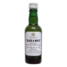 Whisky Black & White 5cl