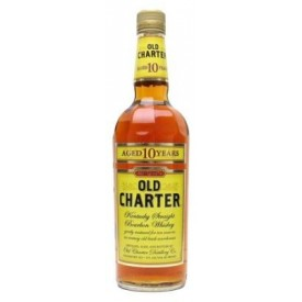 Whiskey Old Charter 10 años...