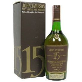 Whiskey  Jameson 15 años...