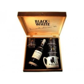 Whisky Black & White Caja...