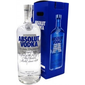 Vodka Absolut 4,5L.