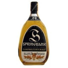 Whisky Springbank 33 años...