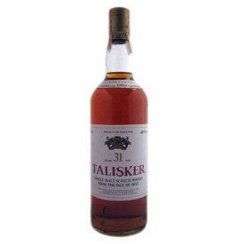 Whisky Talisker 31 años...