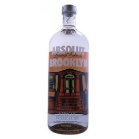 Vodka Absolut Brooklyn 2010...