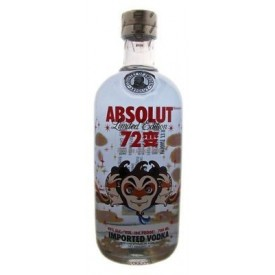 Vodka Absolut 72 变 40% 70cl