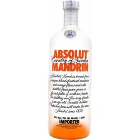Vodka Absolut Mandrin 40% 1L
