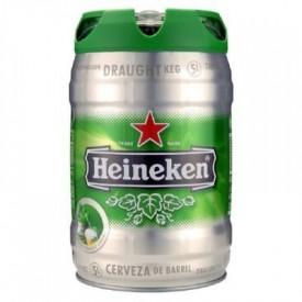 Cerveza Heineken barril...
