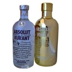 Vodka Absolut Kurant +...