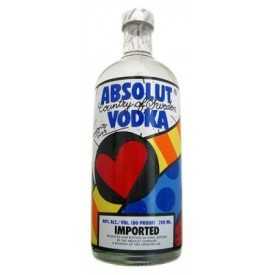 Vodka Absolut Romero Britto...