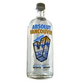 Vodka Absolut Vancouver 40%...