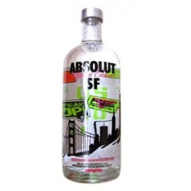 Vodka Absolut San Francisco...