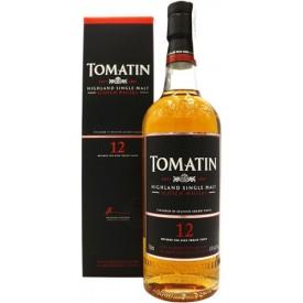 Whisky Tomatin 12 años 43%...