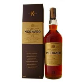 Whisky Knockando 25 años...