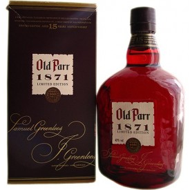 Whisky Old Parr 15 años...