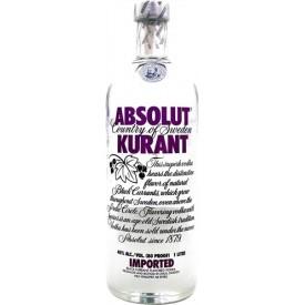 Vodka Absolut Kurant (Texto...
