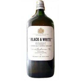 Whisky Black & White (años...