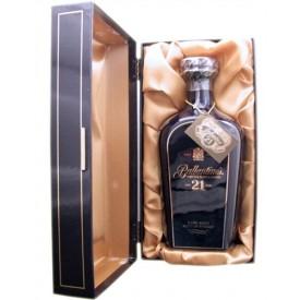 Whisky Ballantine's 21 años...
