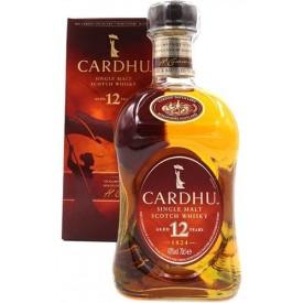 Whisky Cardhu 12 años 40%...