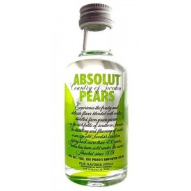 Vodka Absolut Pears 40% 5cl