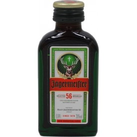 Licor Jagermeister 4cl.