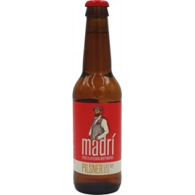 Cerveza Madrí 5º 33cl.