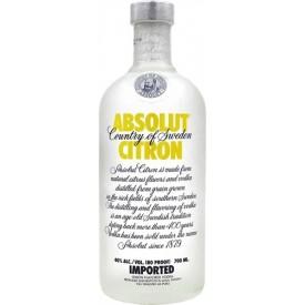 Vodka Absolut Citron 40% 70cl.