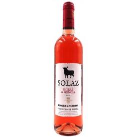 Vino Rosado Solaz 13% 75cl.