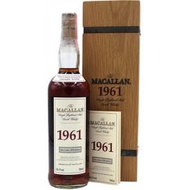 Whisky Macallan 1961 54,1%...