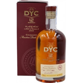 Whisky DYC 12 años 40% 70cl