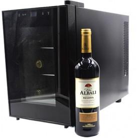Vinoteca Botellero con Albali.
