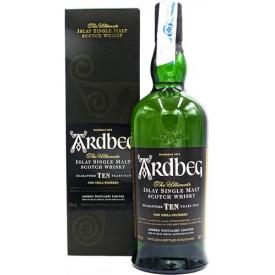 Whisky Ardbeg 10 años 46%...
