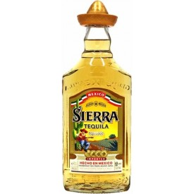 Tequila Sierra Reposado 38%...