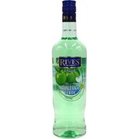 Licor Manzana Verde Rives...