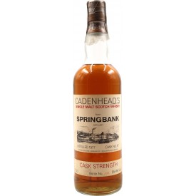 Whisky Springbank 1977...