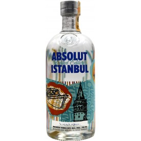 Vodka Absolut Istanbul 40%...