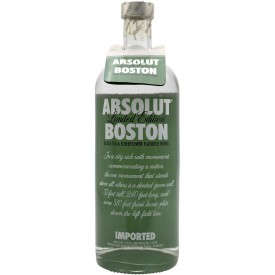 Vodka Absolut Boston 2009...