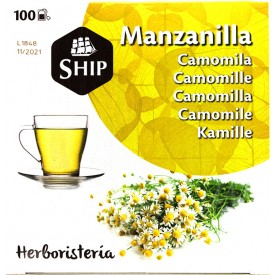 Manzanilla 100 Bolsitas 180gr