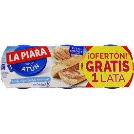 Paté de Atún La Piara Pack...