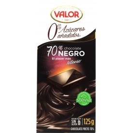 Chocolate Negro 70% Valor...