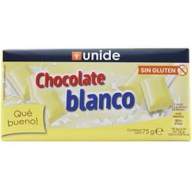 Chocolate Blanco Unide 75g