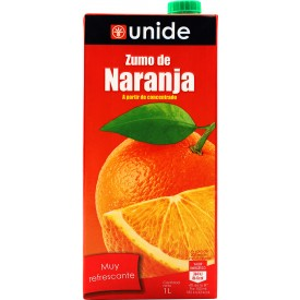 Zumo de Naranja Unide 1L