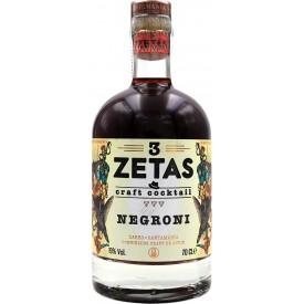 Cocktail 3 Zetas Negroni...